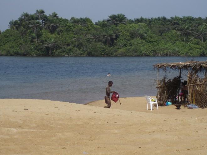 Lagoon at Ceaser's Beach